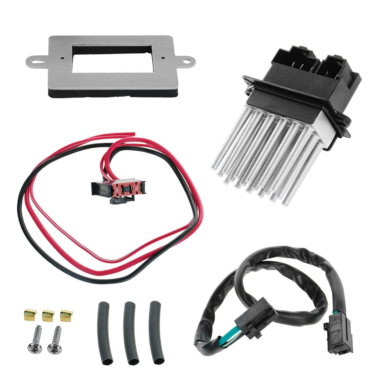 hight resolution of heater blower motor resistor w atc for 99 04 jeep cherokee grand