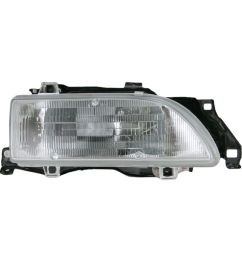 headlight headlamp passenger side right rh new for 89 92 geo prizm [ 1200 x 1200 Pixel ]