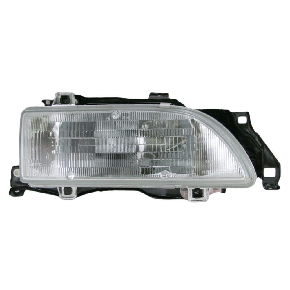 medium resolution of headlight headlamp passenger side right rh new for 89 92 geo prizm