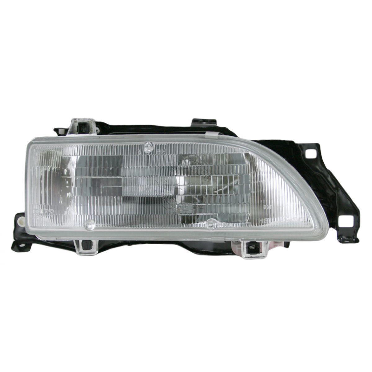 hight resolution of headlight headlamp passenger side right rh new for 89 92 geo prizm