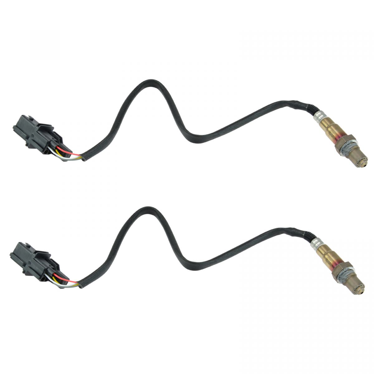 O2 02 Oxygen Sensor Direct Fit Upstream Pair For Cadillac