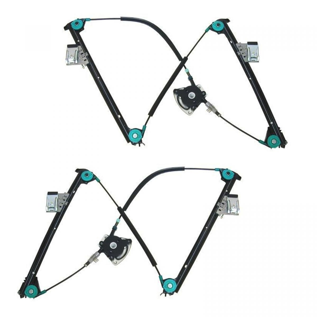 Power Window Regulators Pair Set LH Left & RH Right for