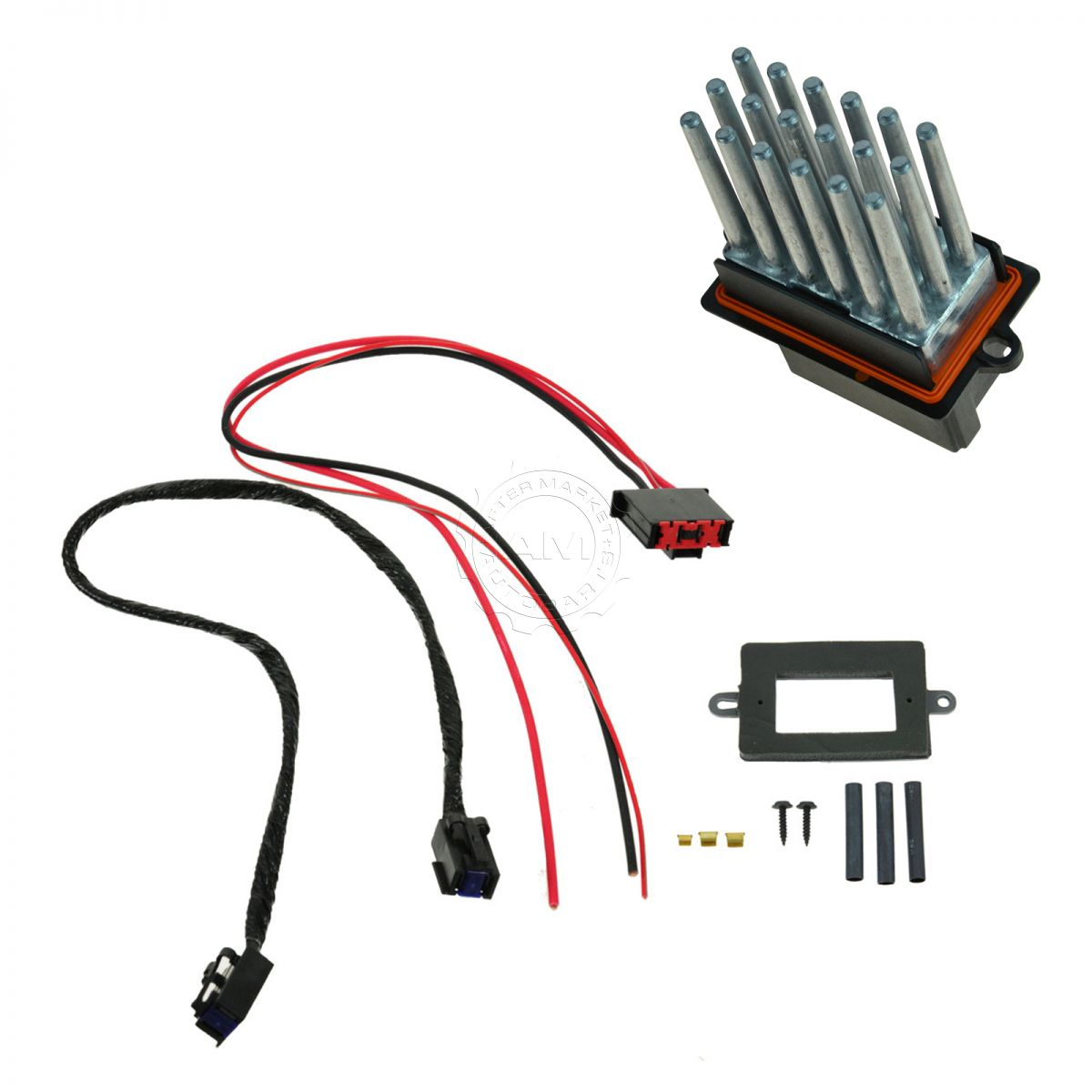 7 wire blower motor resistor harness ford 800 12 volt conversion wiring diagram oem upgrade kit for