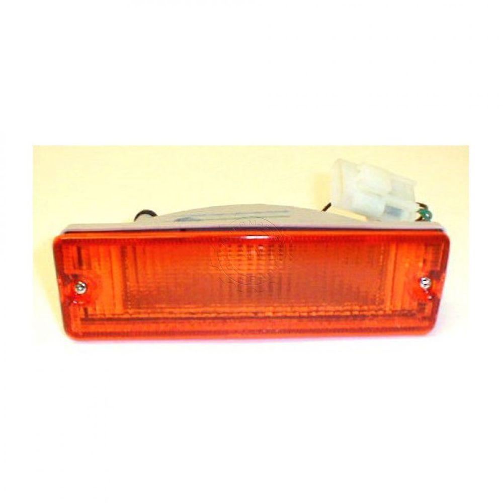 medium resolution of side parking light lh left for nissan d21 hardbody pickup 86 87
