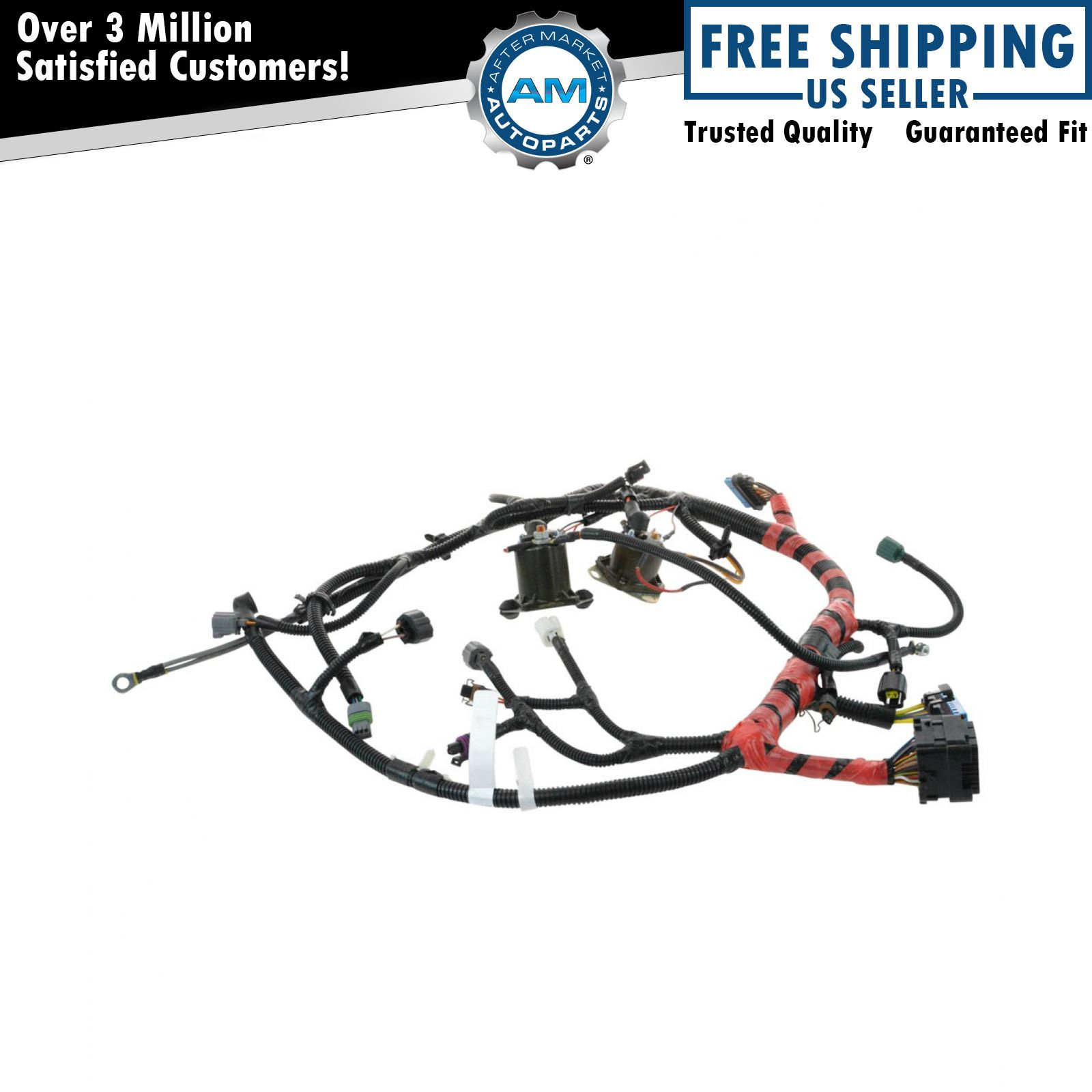 4x4 Harness Auto Electrical Wiring Diagram Gl1800 Honda Communication Oem F81z12b637fa Main Engine For Super Duty