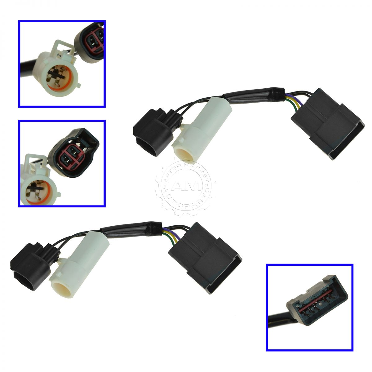 hight resolution of mirrors power heated upgrade harness adapter lh rh pair set for 00 01 excursion