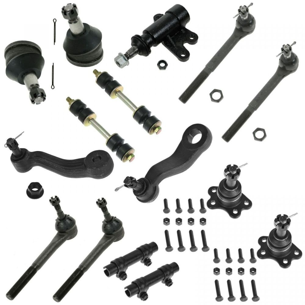medium resolution of for 93 94 95 96 97 98 99 c1500 tahoe 2wd 15pc ball joint tie rod