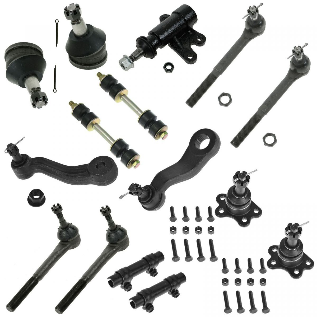 hight resolution of for 93 94 95 96 97 98 99 c1500 tahoe 2wd 15pc ball joint tie rod