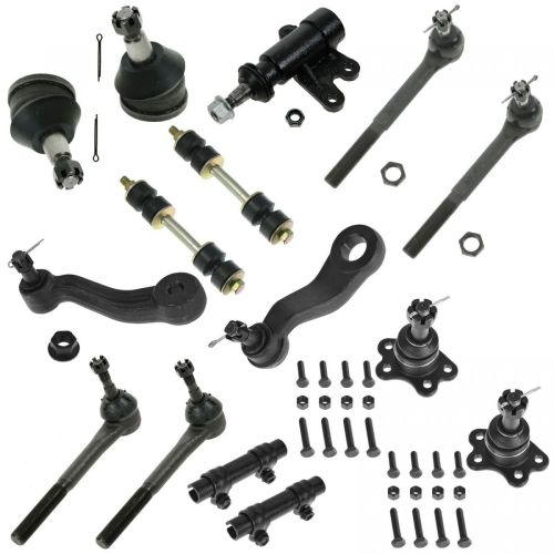 small resolution of for 93 94 95 96 97 98 99 c1500 tahoe 2wd 15pc ball joint tie rod