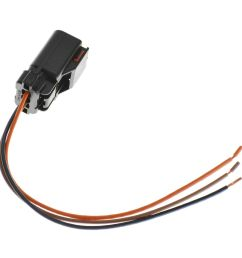 wiring connector pigtail harness 3 terminal pin for chrysler dodge mitsubishi [ 1200 x 1200 Pixel ]