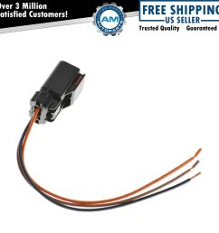wiring connector pigtail harness 3 terminal pin for chrysler dodge mitsubishi ebay 8 wire plug and [ 1200 x 1200 Pixel ]