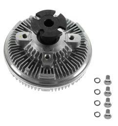 heavy duty radiator cooling fan clutch for chevy gmc pickup truck astro blazer [ 1200 x 1200 Pixel ]