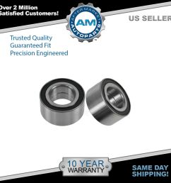 rear wheel bearing left right pair set for escape tribute mercury mariner [ 1600 x 1600 Pixel ]