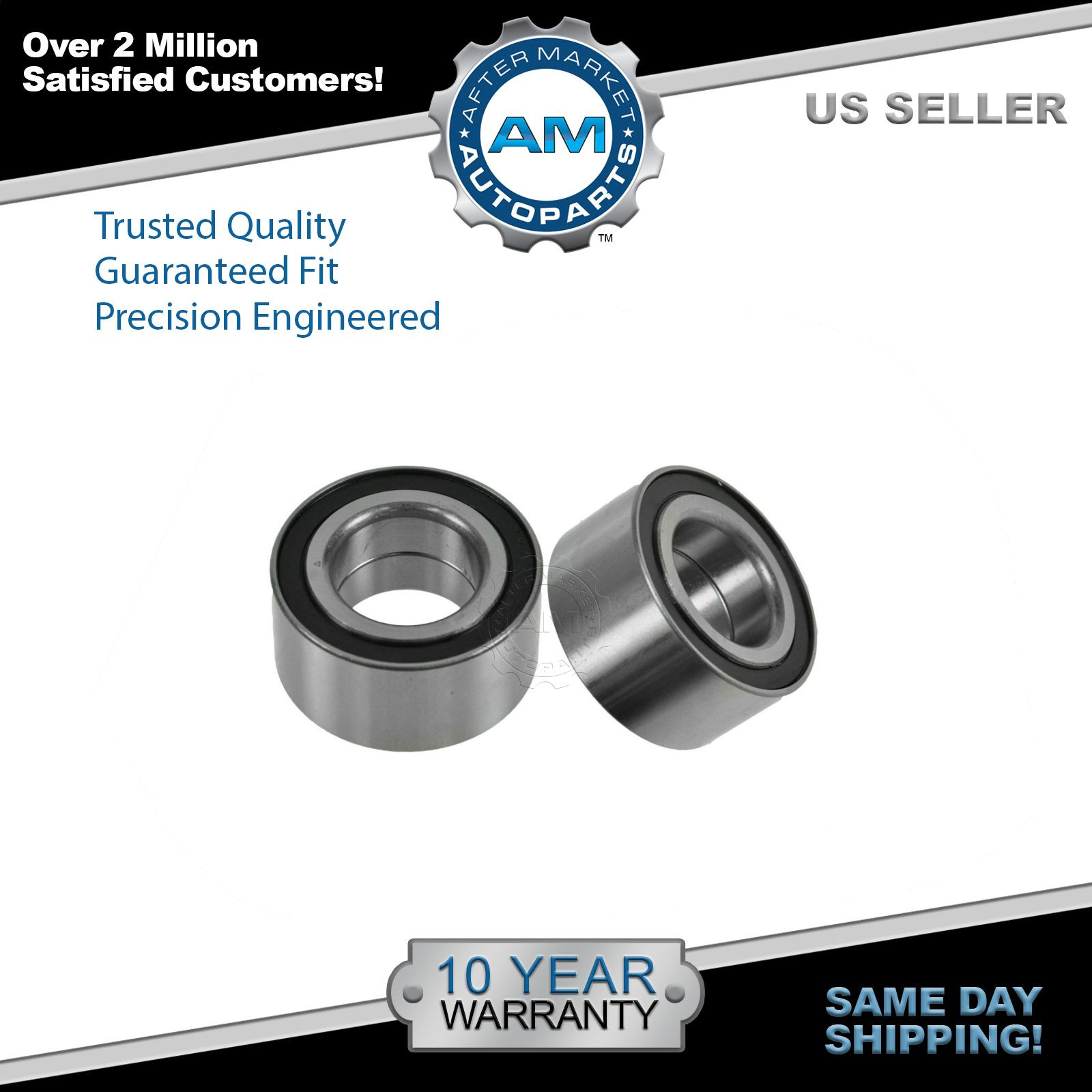 hight resolution of rear wheel bearing left right pair set for escape tribute mercury mariner