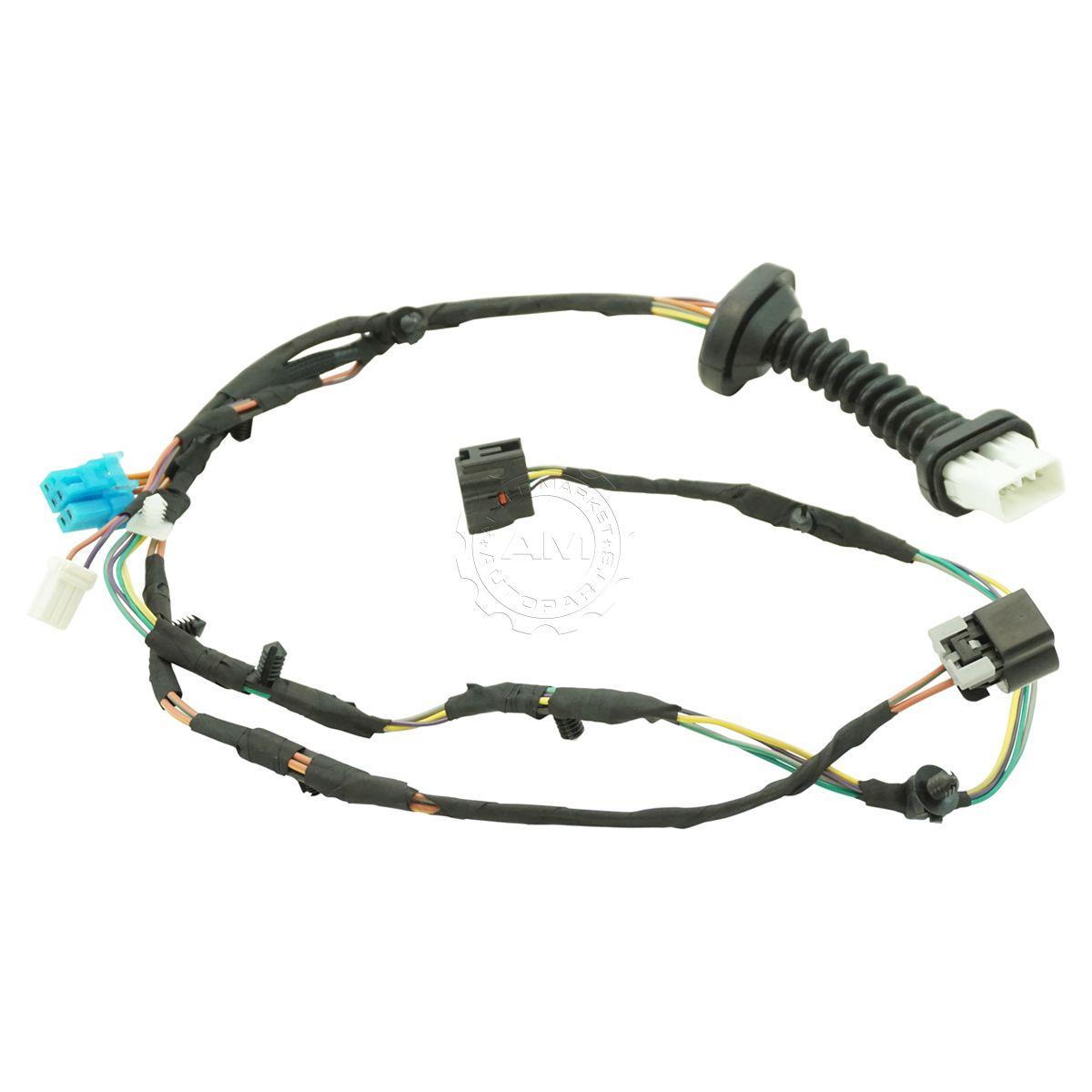 hight resolution of dorman 645 506 rear door wiring harness for 04 05 dodge ram pickup truck