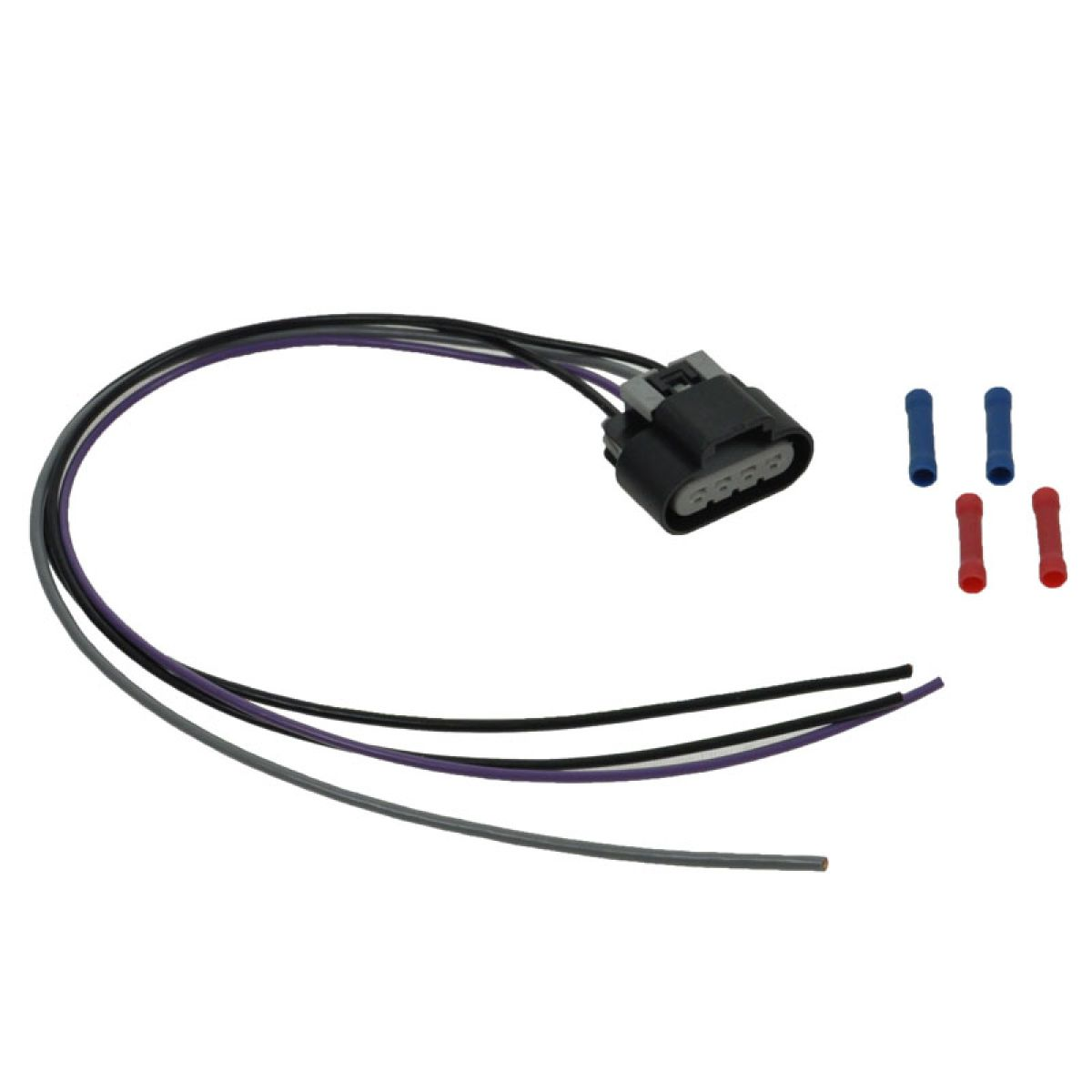 hight resolution of fuel pump wiring harness with oval connector 4 wire pigtail for gm car pickup
