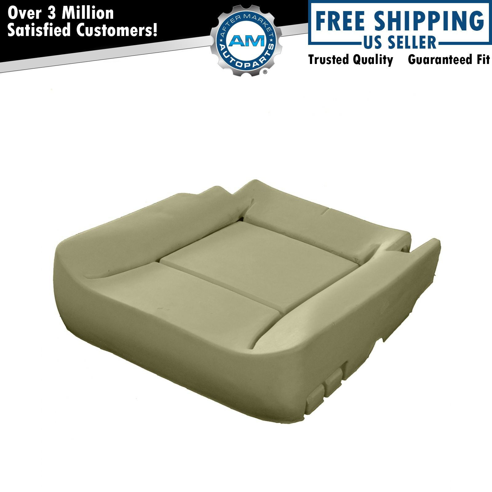 chair bottom pads reclining bed front bucket seat lower cushion pad upgrade for