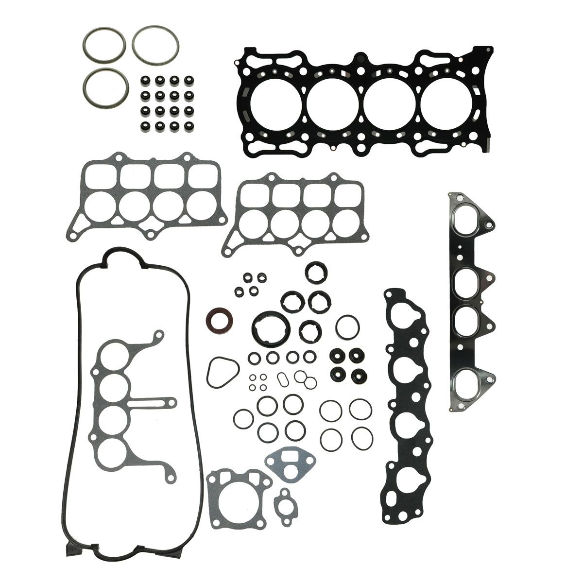 Engine Head Intake Exhaust Manifold Gasket Set For Honda