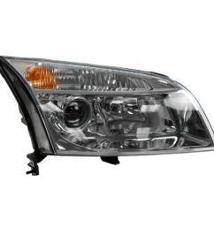 headlight headlamp passenger side right rh new for 06 09 mercury milan [ 1200 x 1200 Pixel ]