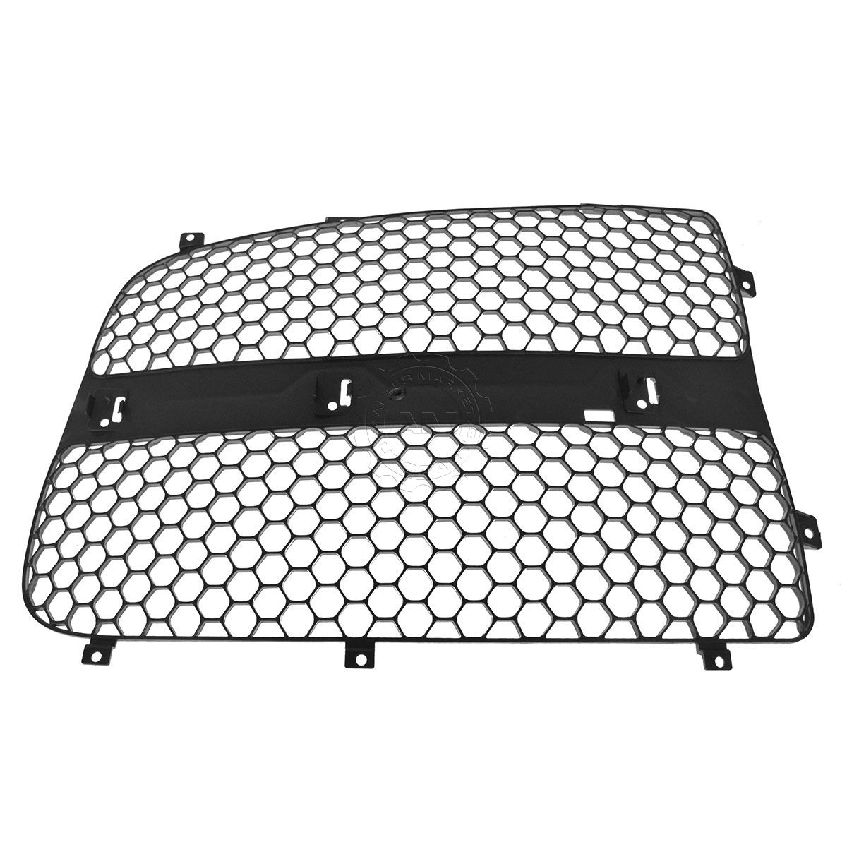 Grille Insert Gray Honeycomb RH Passenger Side for Dodge