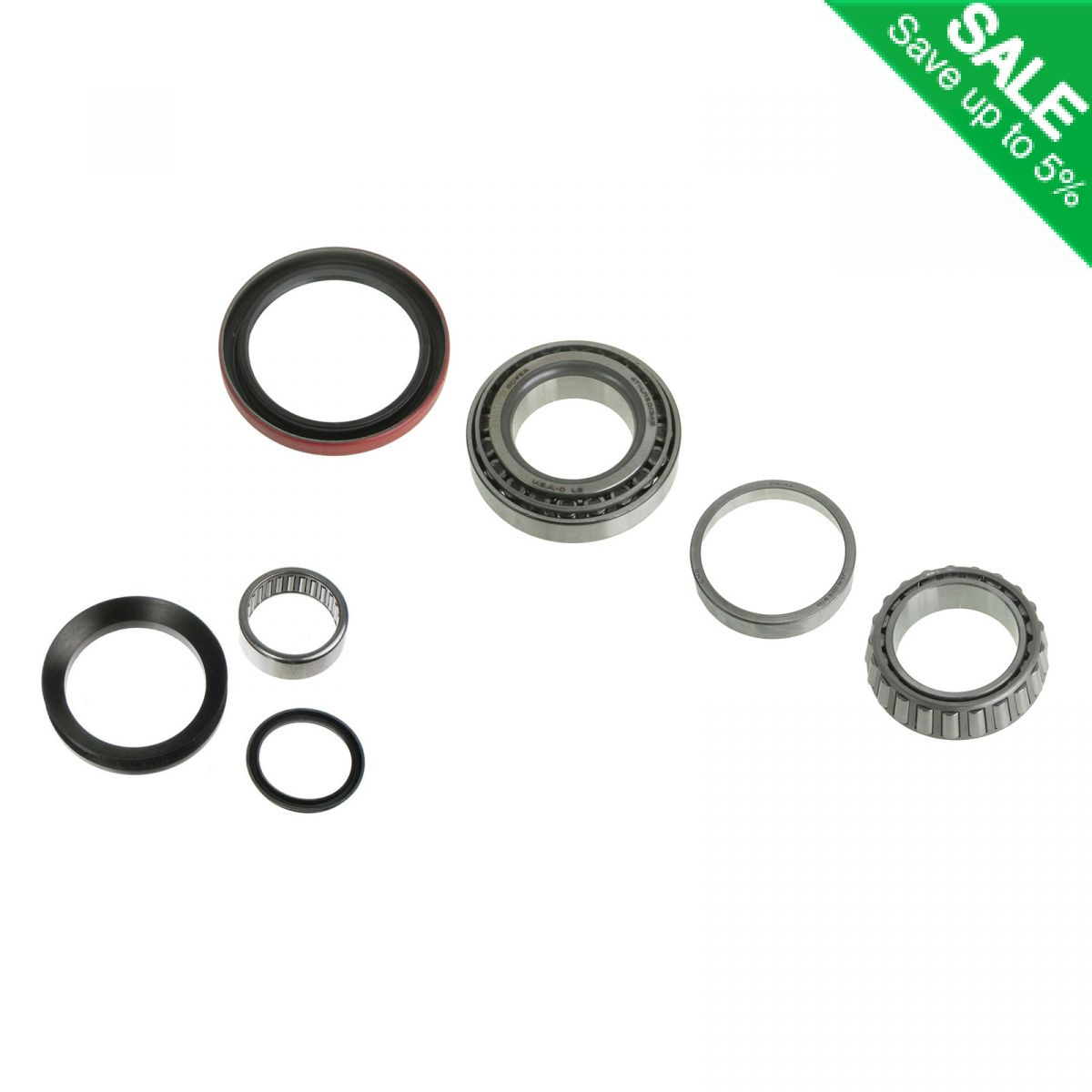 Front Spindle & Wheel Bearing Repair Kit for Chevy GMC