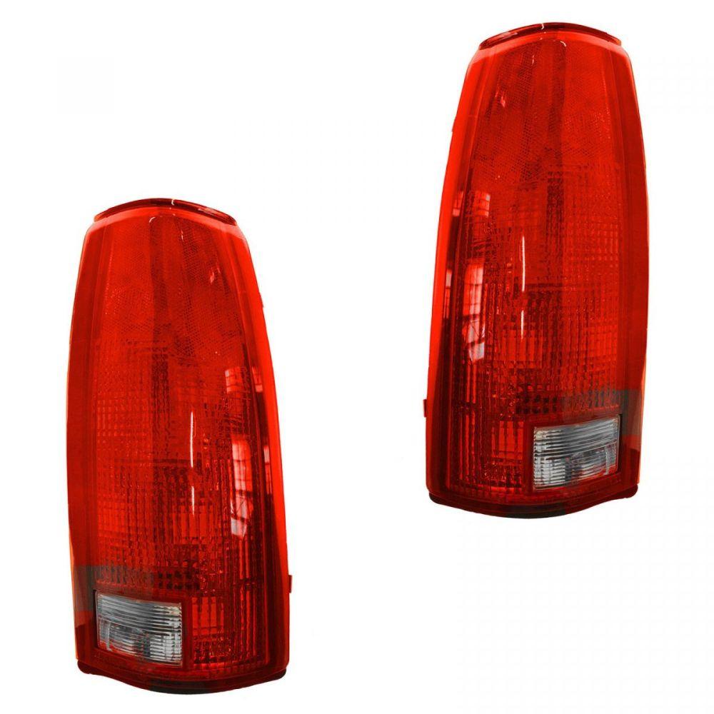 medium resolution of taillights brake lights left right pair set of 2 for chevy gmc c k