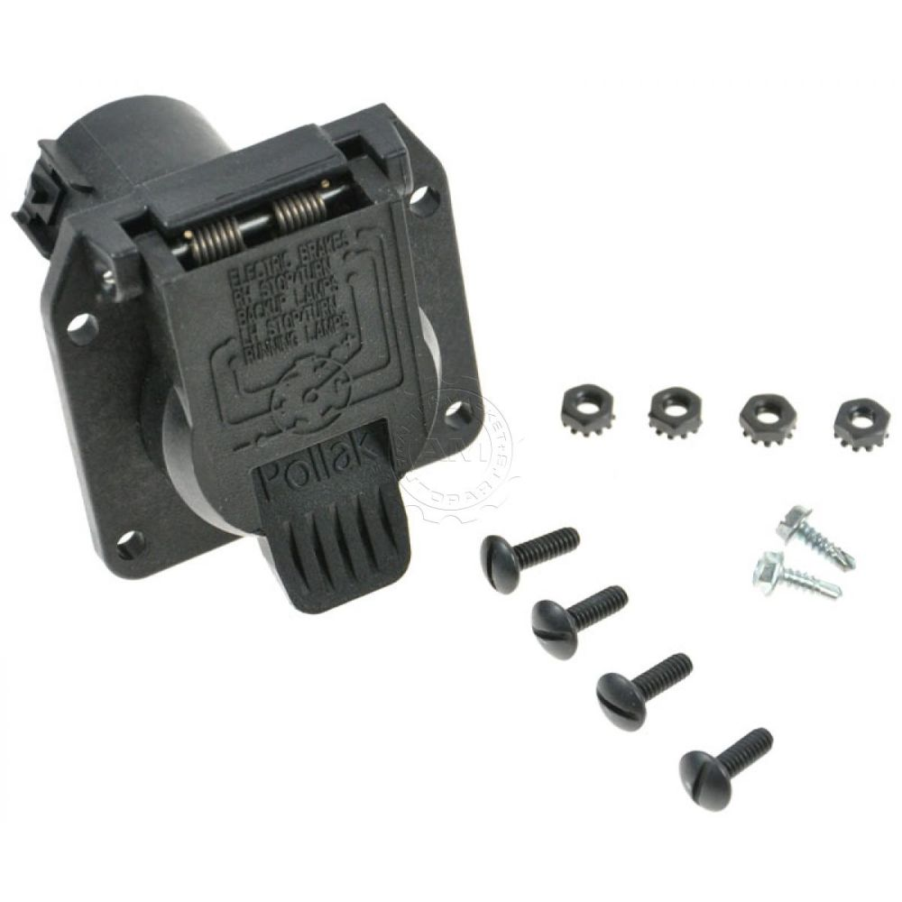 medium resolution of dorman trailer hitch harness wiring plug connector receptacle for ford lincoln