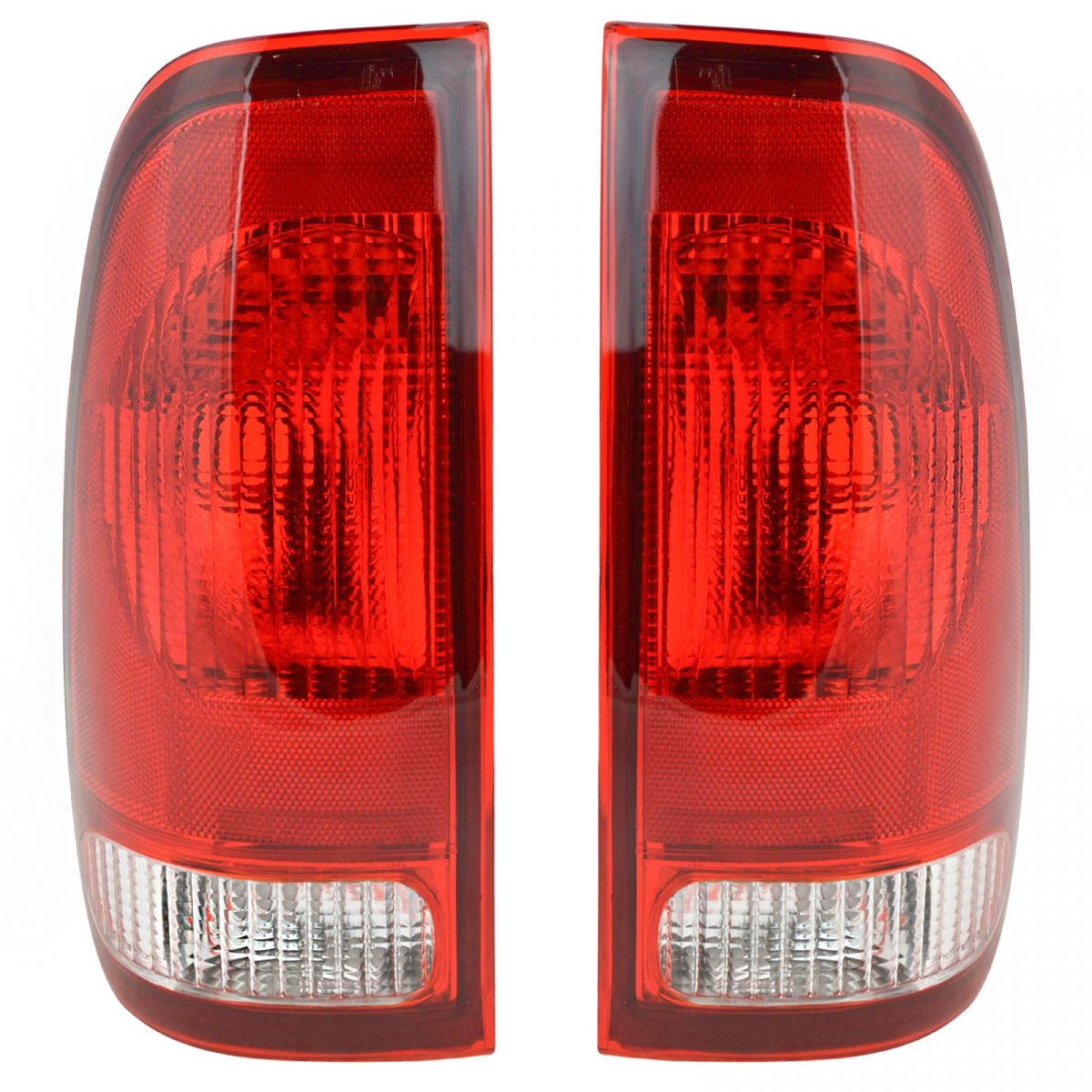 hight resolution of taillights taillamps rear brake lights pair set new for ford f series truck