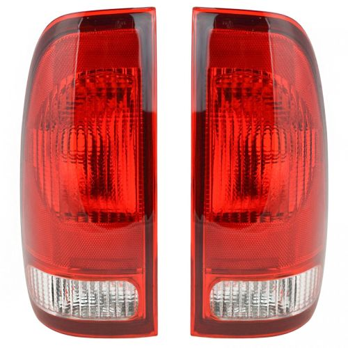 small resolution of taillights taillamps rear brake lights pair set new for ford f series truck