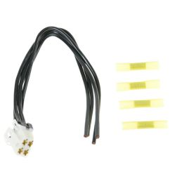 dorman heater blower motor resistor pigtail plug for ford new [ 1200 x 1200 Pixel ]