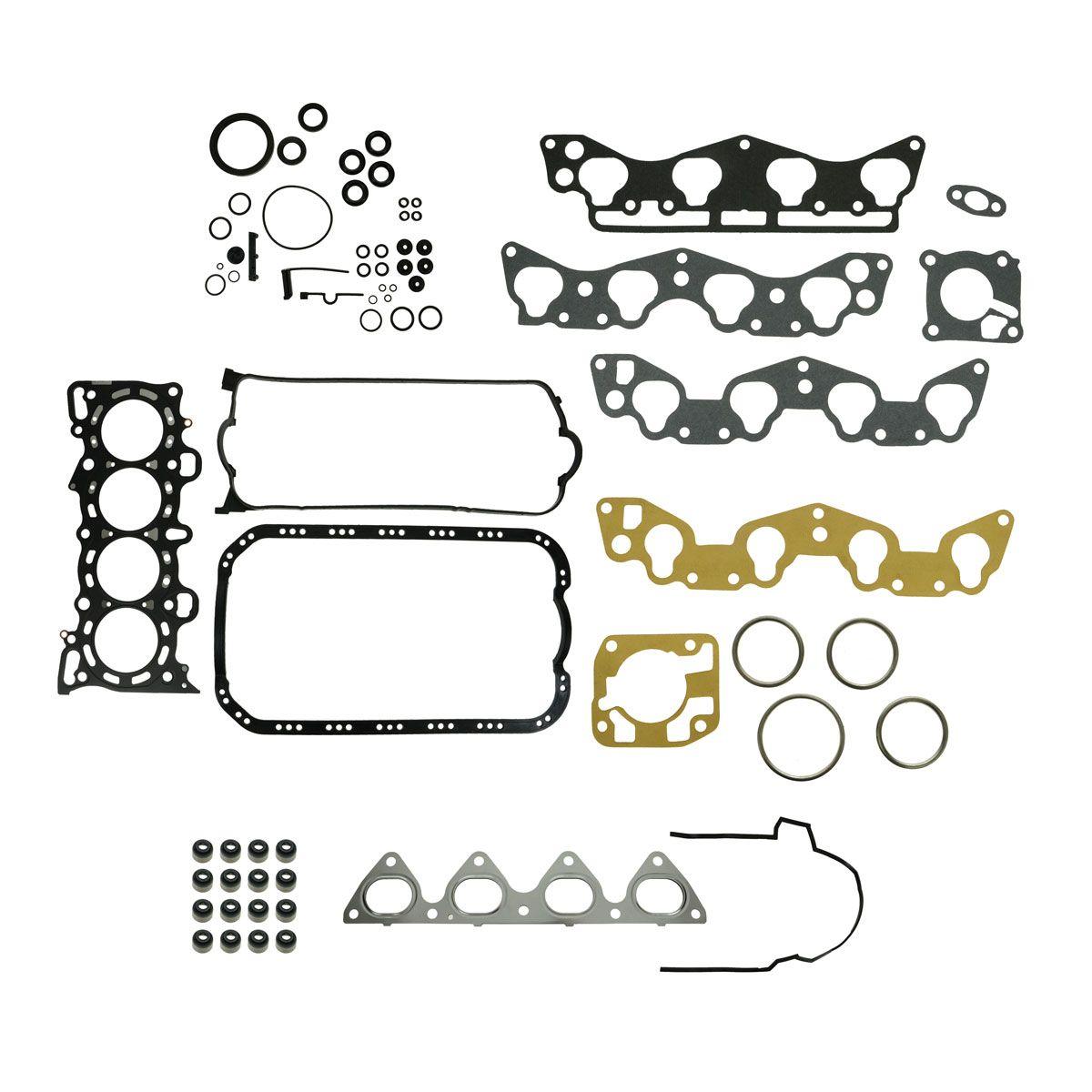 Full Complete Engine Gasket Set Kit for Honda Civic EX Del