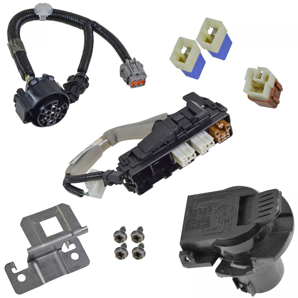 hight resolution of oem 7 pin trailer tow hitch receiver harness assembly for nissan pathfinder new