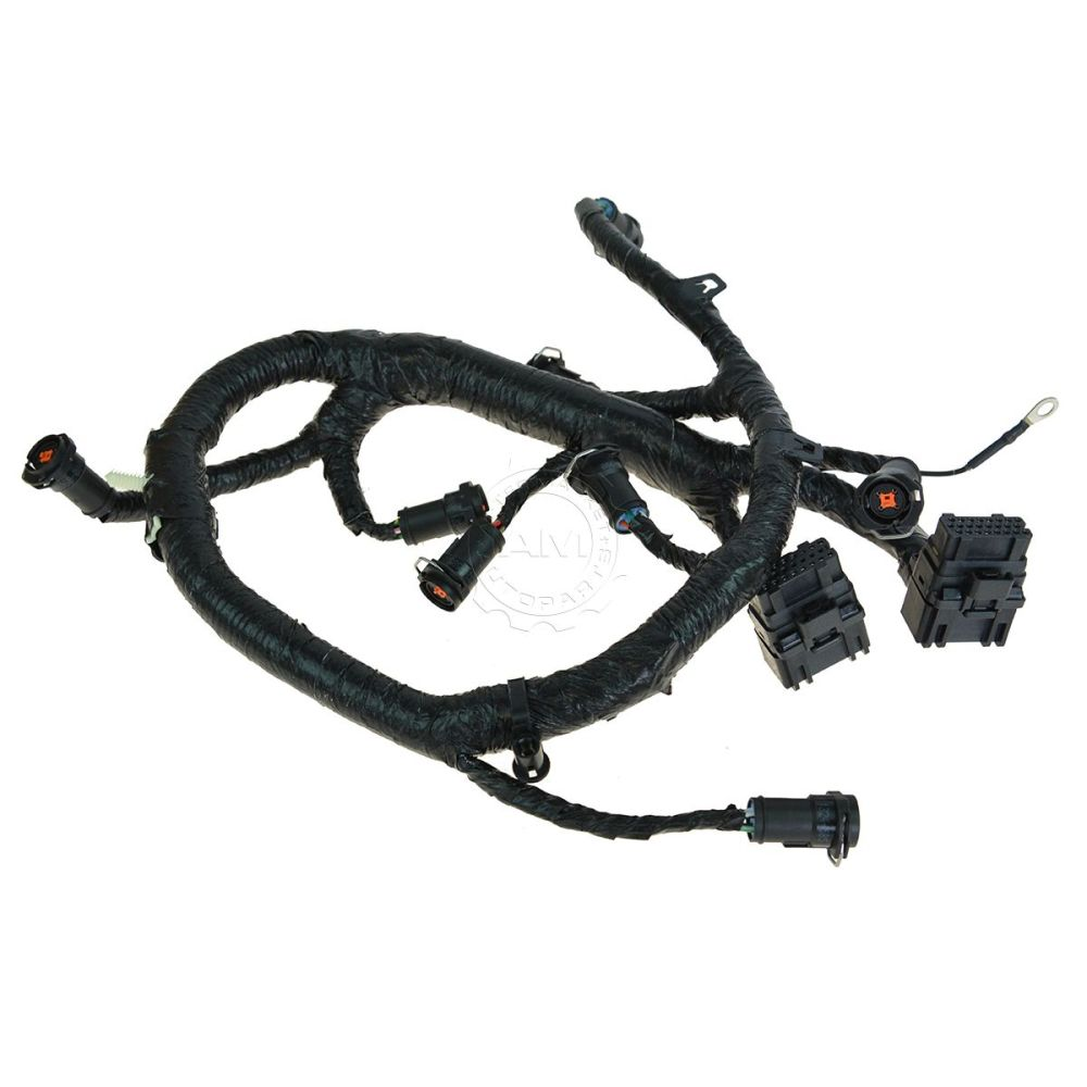 medium resolution of oem fuel injector wiring harness for 05 07 ford diesel truck