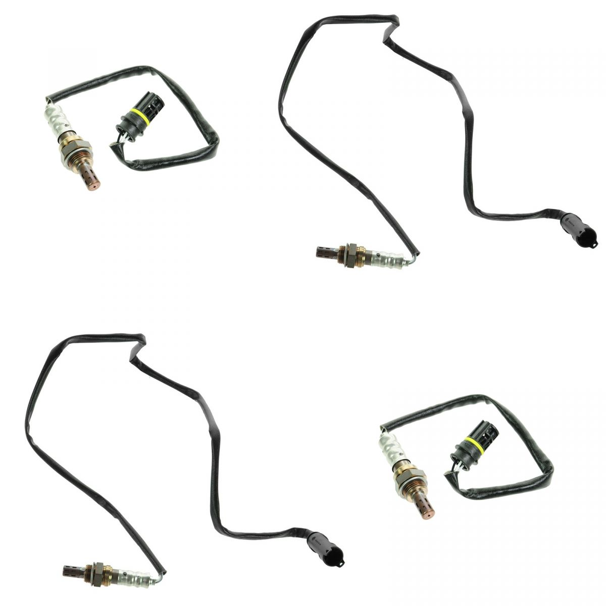O2 Oxygen Sensor Direct Fit Kit Set Of 4 For Bmw E46 Z3