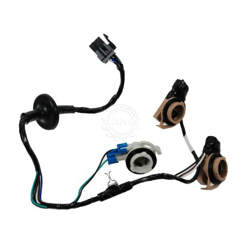 small resolution of dorman 3 socket taillight taillamp wiring harness for chevy express tail light wiring harness 68 camaro tail light wiring harness