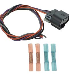 delphi fa10003 fuel pump wiring harness connector oval plug for chevy fuel pump wiring harness [ 1200 x 1200 Pixel ]