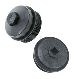 dorman oil filter housing cap fuel filter cap w gasket for ford f250 f350 [ 1200 x 1200 Pixel ]