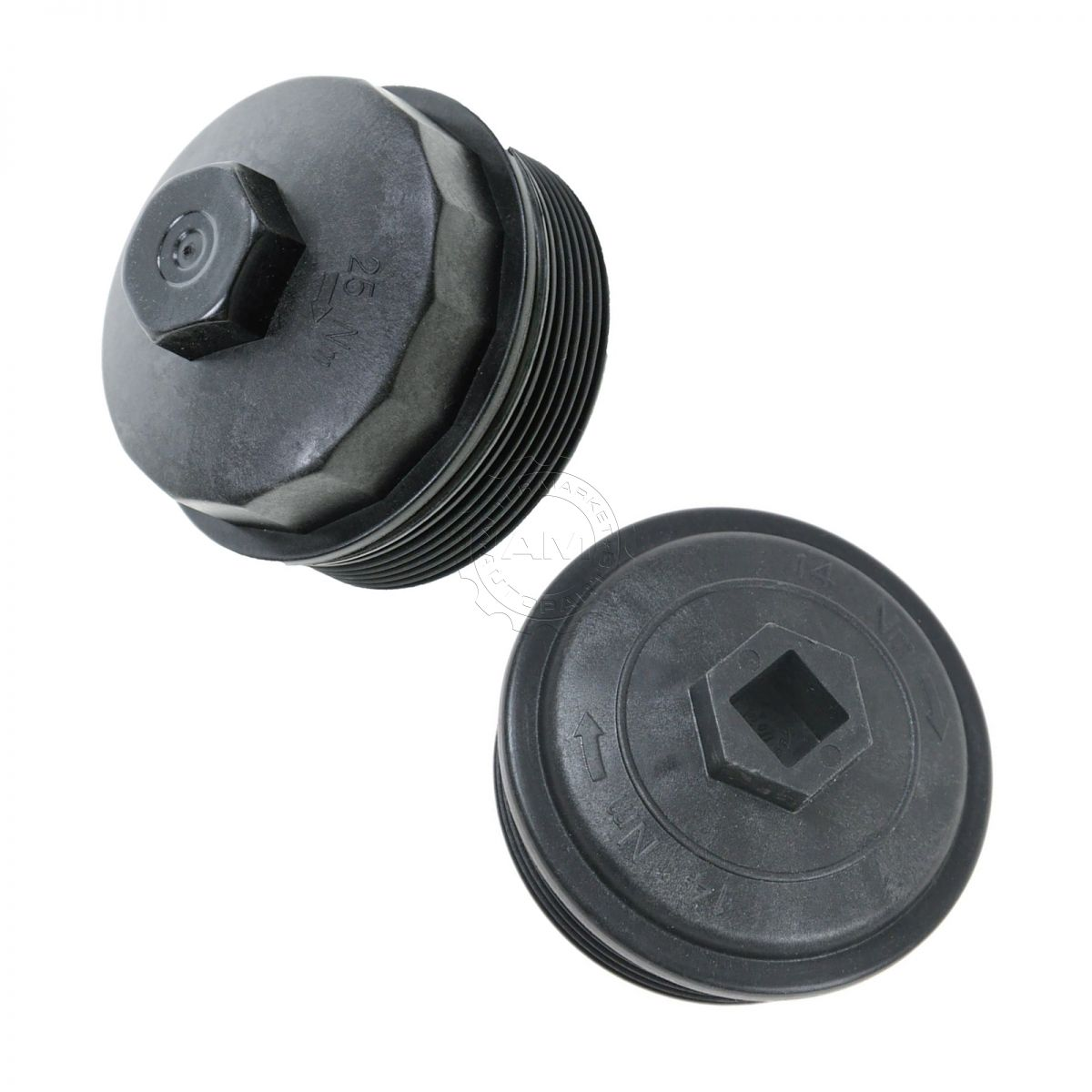hight resolution of dorman oil filter housing cap fuel filter cap w gasket for ford f250 f350