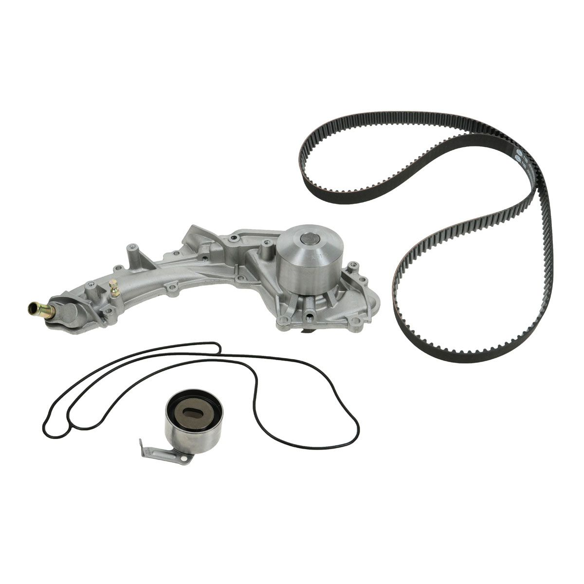 Gates 3 Piece Timing Belt Component Kit & Water Pump for