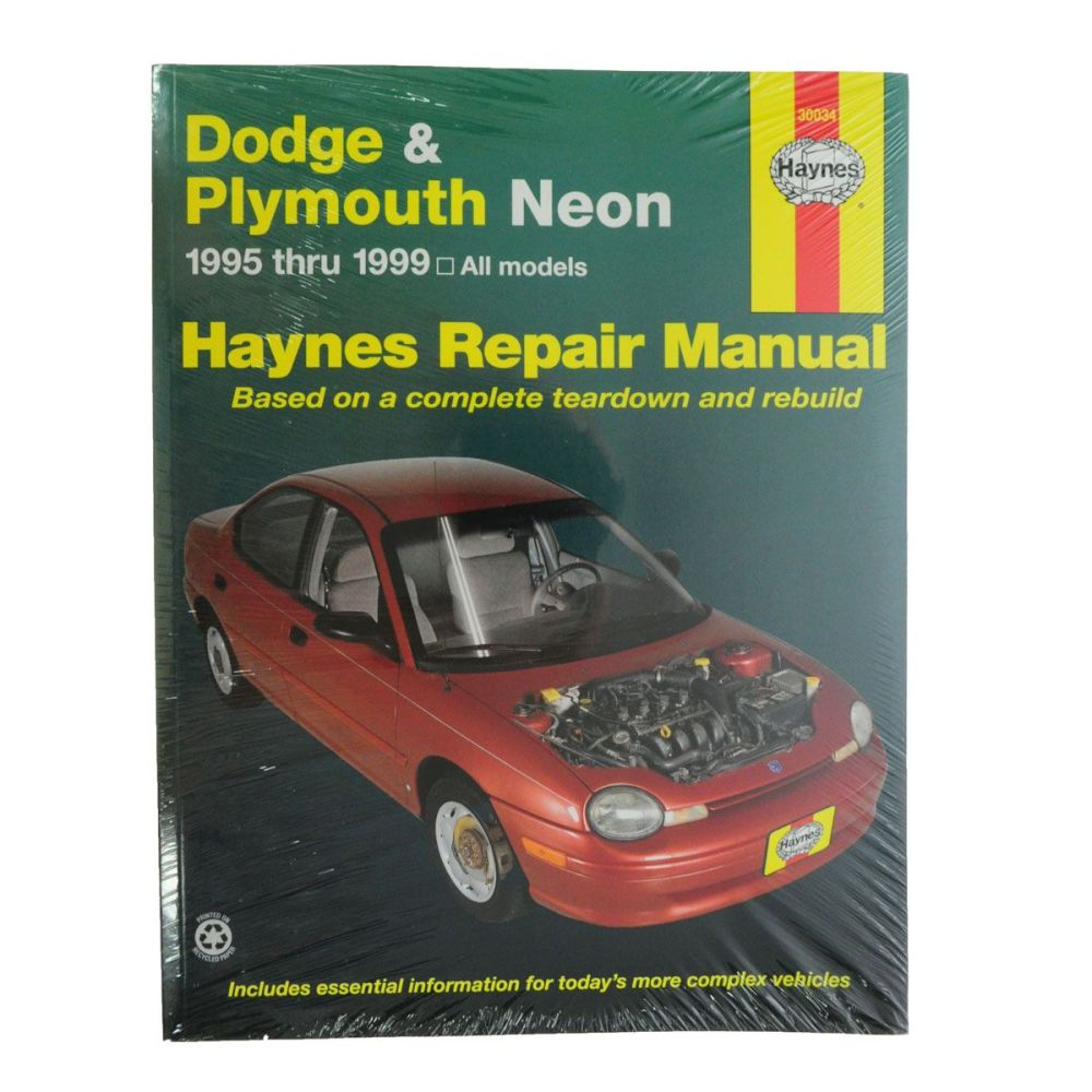 medium resolution of haynes repair service manual for 95 99 dodge plymouth neon