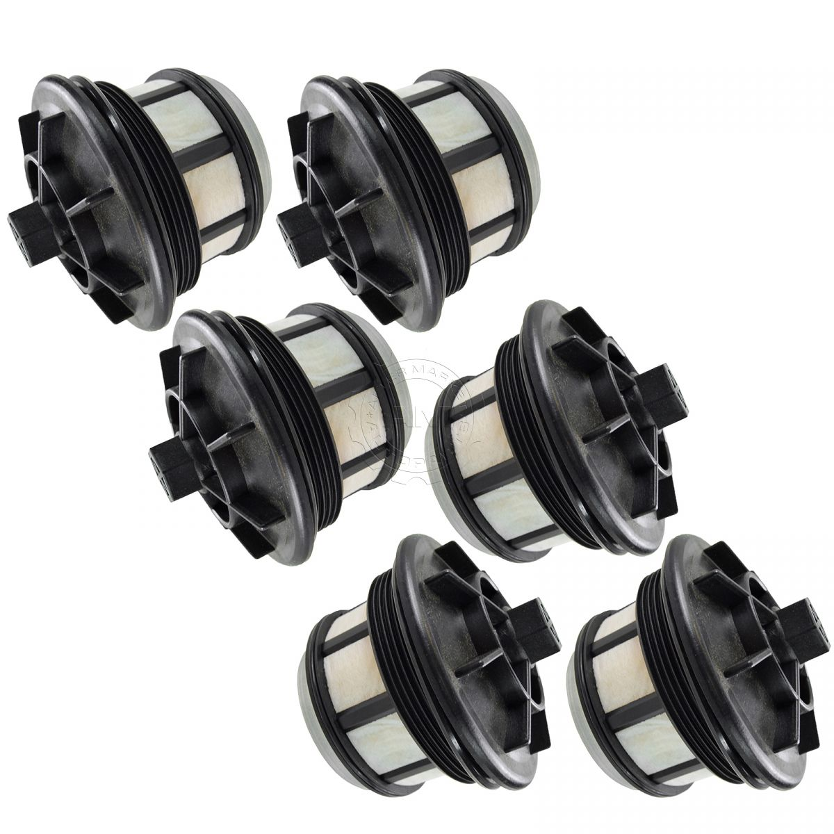 fuel filter set of 6 for ford f250  [ 1200 x 1200 Pixel ]