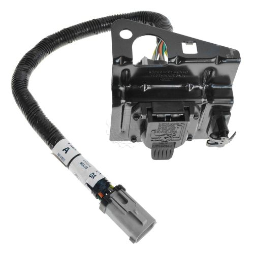 small resolution of ford 4 7 pin trailer tow wiring harness w plug bracket for f250