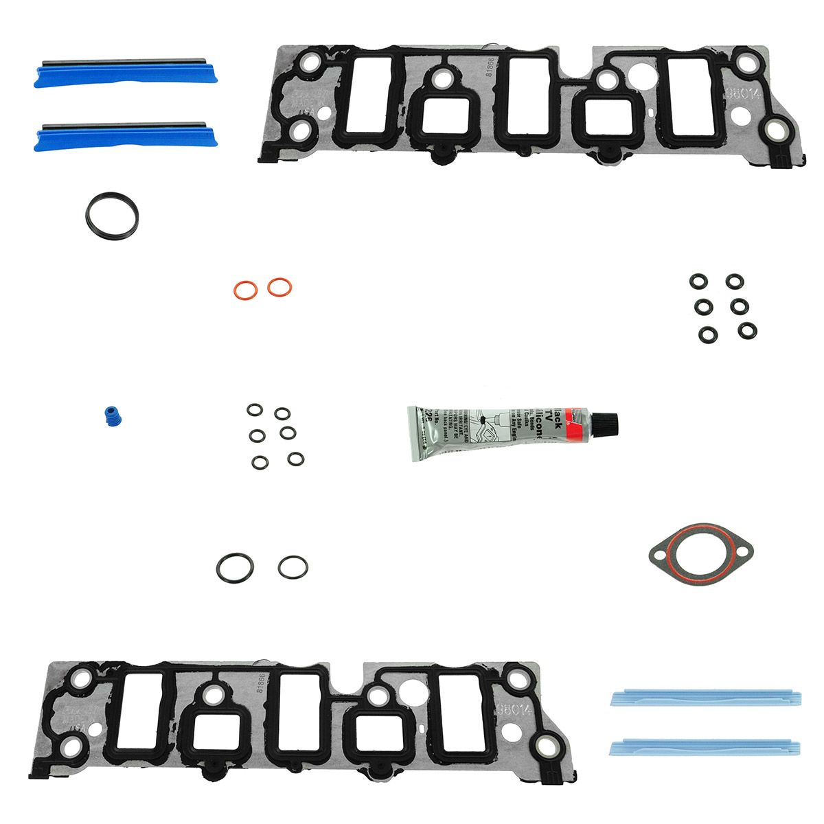 Lower Intake Manifold Gasket Set Updated For 95 09 Buick