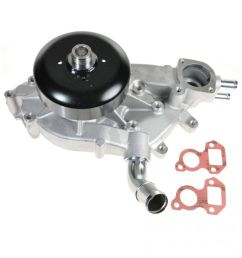 water pump for chevy buick cadillac gmc h2 sierra 1500 v8 truck pickup [ 1200 x 1200 Pixel ]