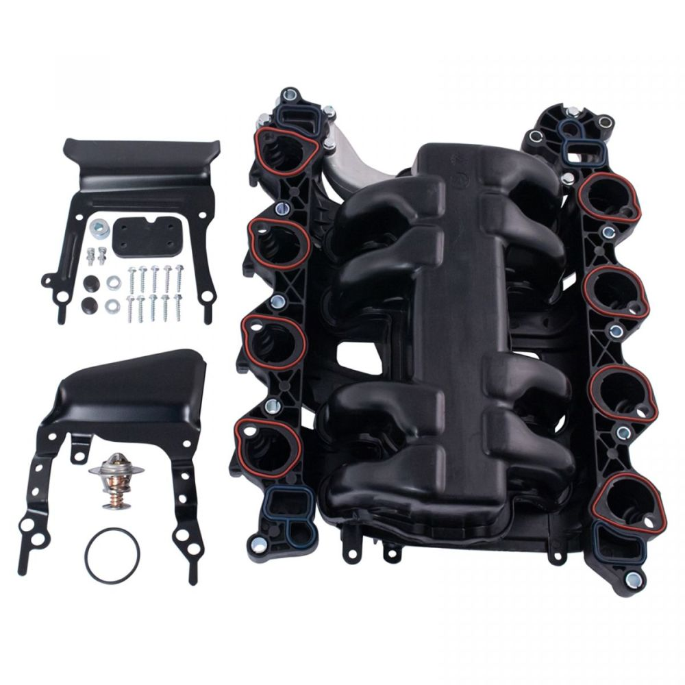medium resolution of new intake manifold w gasket thermostat o rings for ford lincoln mercury 4 6l