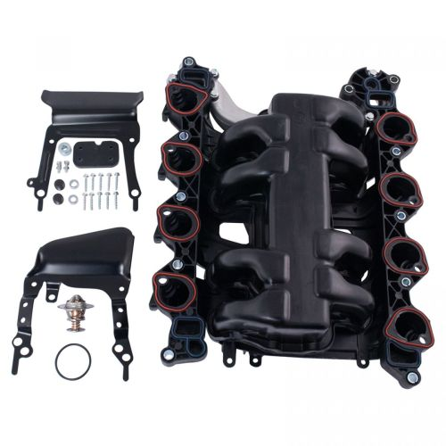 small resolution of new intake manifold w gasket thermostat o rings for ford lincoln mercury 4 6l