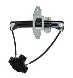 dorman rear sliding glass power window regulator for ford explorer sport trac [ 1200 x 1200 Pixel ]