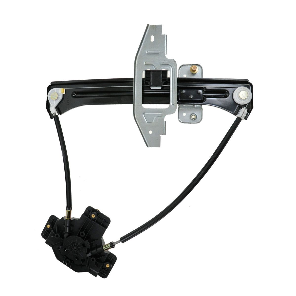 hight resolution of dorman rear sliding glass power window regulator for ford explorer sport trac