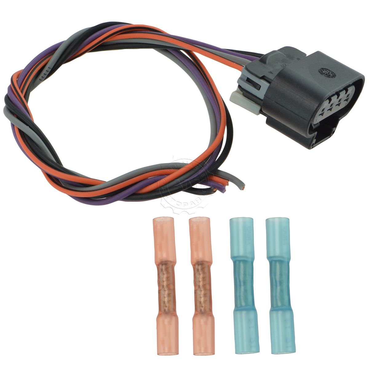 hight resolution of delphi fa10003 fuel pump wiring harness connector oval plug for chevy gmc new