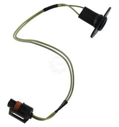 dorman license plate light wire harness rear for dodge ram 1500 2500 3500 [ 1200 x 1200 Pixel ]
